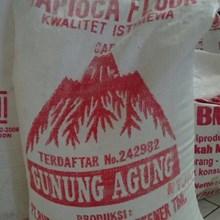 Tepung Tapioka gunung agung 25kg