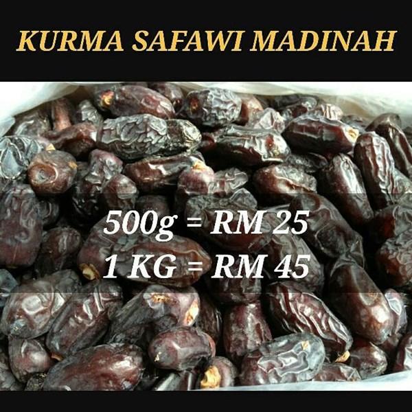 Kurma safawi madina 5kg/karton   Buah Kering dan Kacang-kacangan