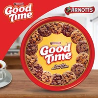 Good Time Assorted Cookies Cokelat Aneka Rasa - 345 gr  Nastar