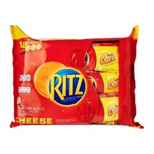 RITZ Sandwich Cracker Cheese  isi 12 pcs per pax Nastar