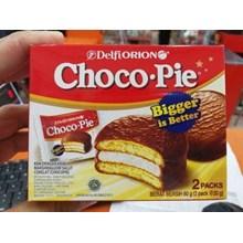 DELFI CHOCO PIE 2S 2Sx 30GR  CHOCOPIE ORION TOMORION Makanan dalam Kemasan