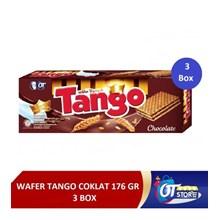 WAFER TANGO COKLAT 176GR  ISI 3 PCS per pack Makanan Manis
