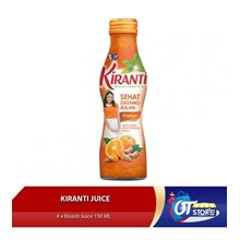 KIRANTI SEHAT DATANG BULAN ORANGE JUICE (ISI 4PCS) Minuman Lainnya