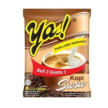 Ya kopi susu 28 gram (isi 10 sachet/pack X 12 pack/karton)