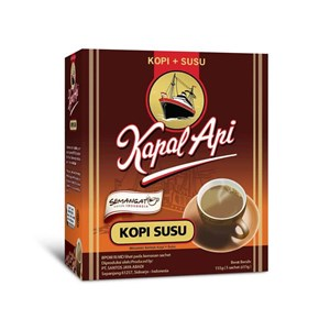 Kapal Api Kopi Susu 31 gram (isi 5 sachet/dus)
