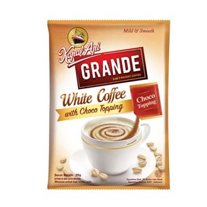 Kapal Api Grande White Coffee 20 gram (isi 10 Sachet/renceng)