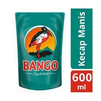 Jual Bango Kecap Manis Refill 600ml  x 12 bungkus/dus Bumbu Masak  sku 030 2