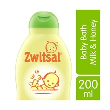 Zwitsal Natural Baby Bath 2 in 1 Hair & Body [200 mL] Shampoo Hotel  sku 030