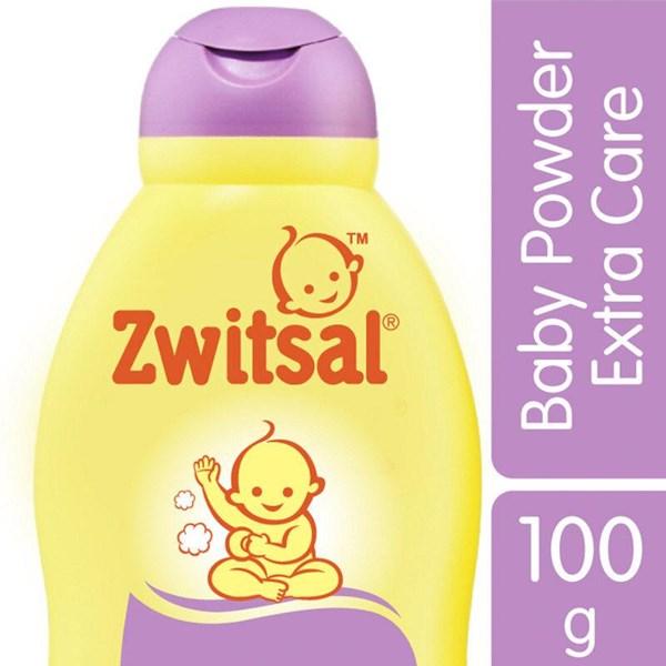 ZWITSAL Baby Powder Extra Care Zinc 100gr Munculnya bedak sku030