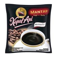Kapal Api Kopi & Gula Rasa mantap 25 gram( isi 30 sachet/bag)