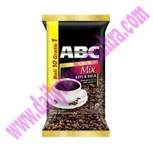 ABC MIX Kopi & gula 25 gram (isi 10 sachet/bag X 12 bag/karton)