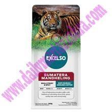 EXCELSO SUMATERA MDL HALUS 200 GR .Kemasan Pack isi 200 gram Satu Karton berisi 20 Pack  Kopi Sachet