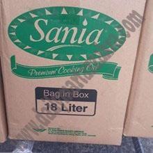 Minyak Goreng Sania in box 18L