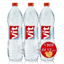 VIT Mineral Water 1500ml Bottles x 12 bottles per