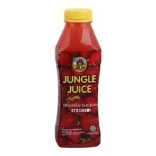 JUNGLE JUICE Strawberry - 1000 ml x 6 botol/dus
