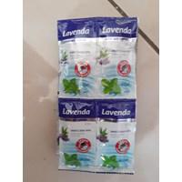 Jual lavenda Lotion Anti Nyamuk 1 Strip 24 Sachet Losion dengan Vitamin E dan Menthol