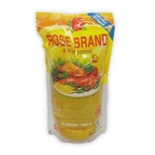 Rose Brand Minyak Goreng 1 Liter refil x 12 bungkus  per dus