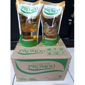 Promoo minyak goreng 1 Liter  refil x 12 bungkus per dus