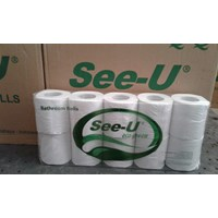 Jual See U Tissue Bathroom Non Emboss Eco Green 10 in 1  2