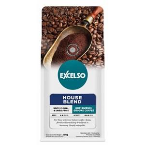 EXCELSO HOUSE BLEND HALUS 200 GR (kopi bubuk)