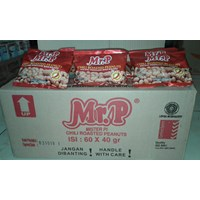 Mr P kacang madu chili 40 gr (isi 60 pcs/ctn ) 1