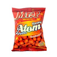 Beli Mr P kacang atom pedas 100 gr(isi 40 pcs/ctn) 4
