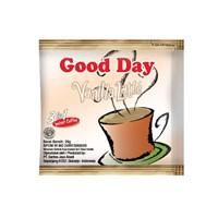 GOOD DAY VANILLA LATTE 20 gram (isi 50 sachet/bag X 20 gram )