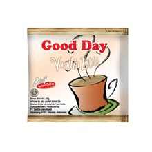 GOOD DAY VANILLA LATTE 20 gram (isi 50 sachet/bag X 20 gram )