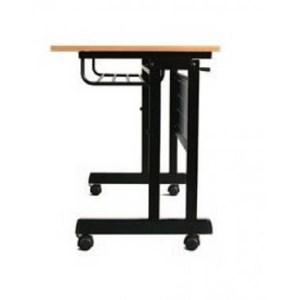 Srikandi meja lipat Folding Desk Moveable ukuran 120 cm (P) x 60 cm (L) x 75 cm (T)