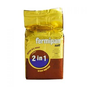 Fermipan 2 in 1 Ragi Plus Bread Improver 20 pack x 500 gram/karton