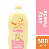 ZWITSAL BABY POWDER  CLSC FRESH FLO 500gr x 12 botol/ct