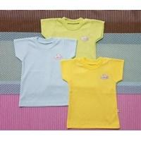 Jual Baju Celana setelan lengan sui Little Q girl  3 per 4 print L XL per pax isi 3 stell 2