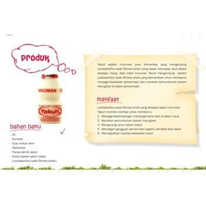 YAKULT Minuman Susu Fermentasi Botol x 6 botol/pack
