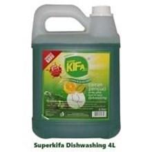 Superkifa Dishwashing/sabun cuci piring  4x4L per carton