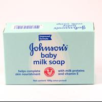 Jual Jhonson Baby Milk Soap 100 gram (PH) COSMOS X 96 pcs/ctn