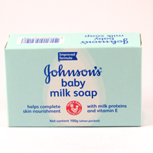 Jhonson Baby Milk Soap 100 gram (PH) COSMOS X 96 pcs/ctn