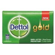 Dettol Soap Gold Green 65gr x 144 pcs/carton (Sabun batangan  Anti Bakteri Dettol )