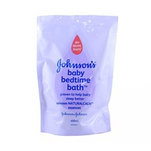 Jhonson baby Baedtime Bath 400 Ml Refill TH-Jetpack x 12 pcs/ctn