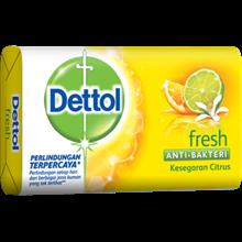 Dettol Soap Fresh 105 GR Super Hemat x 27pcsx5pax/135 pcs (Sabun Anti Bakteri Dettol Fresh (4+1 105g)
