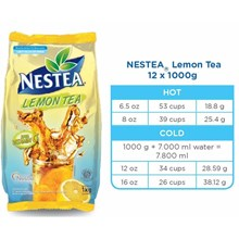 Nestea lemon tea 1000gr x 12 pax/carton
