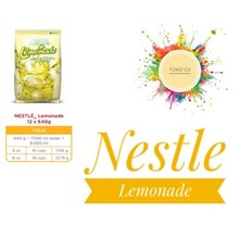 Nestle Lemonade Ori 12 PACK X 640 GR