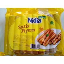 Nidia Sosis breakfast ayam 1kg x50pcs/pack x 20pack/carton