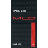 Jual Rokok Djarum super MLD Black series 16 batang x 10pax x 10slop/ball