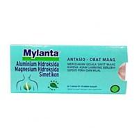 Jual MYLANTA TABLET 100'S x 240 strip/carton