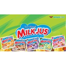 milkjus sachet 25 gr x 60 pcs x 2 pax/ctn
