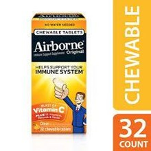 Airborne Chewable Citrus 32s X 36 pcs/carton