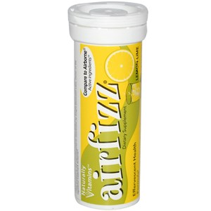 Airborne Effervescent Lemon 10s x 72 pcs/carton