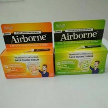 Airborne Effervescent Orange 10s x 72 pcs/carton