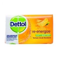 Jual Dettol  soap ekonomis 105 gr Re-Energize 3sp x 48/144pcs/carton
