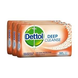 Dettol Deep Cleanse  [105 g/3 pcs] x 48 /144pcs/carton